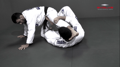 Deep Half Guard To X Guard Transition