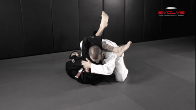 Deep Half Guard Transition To Back Control