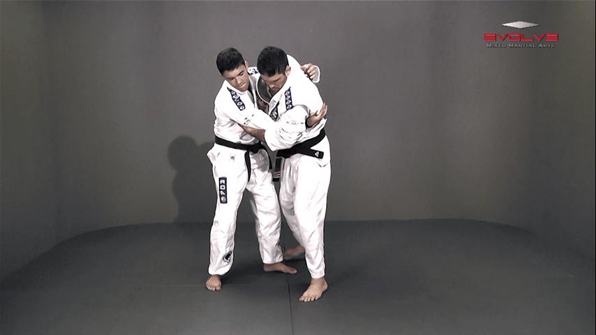 Defense Against Double Lapel Grab