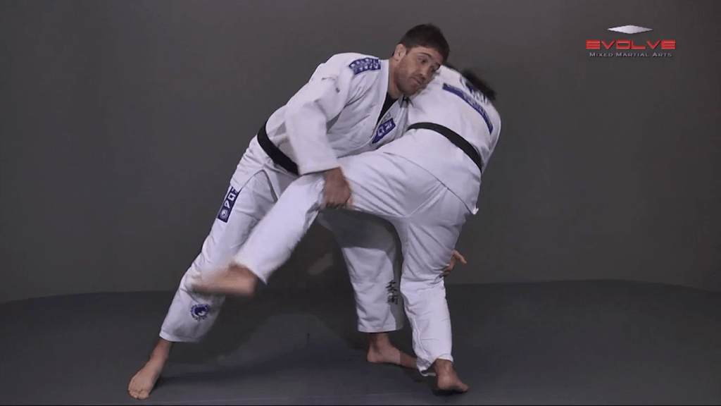 Defense Against Jab To Double Leg Takedown