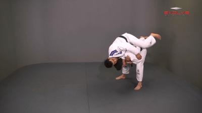 Defense Against Standing Rear Choke