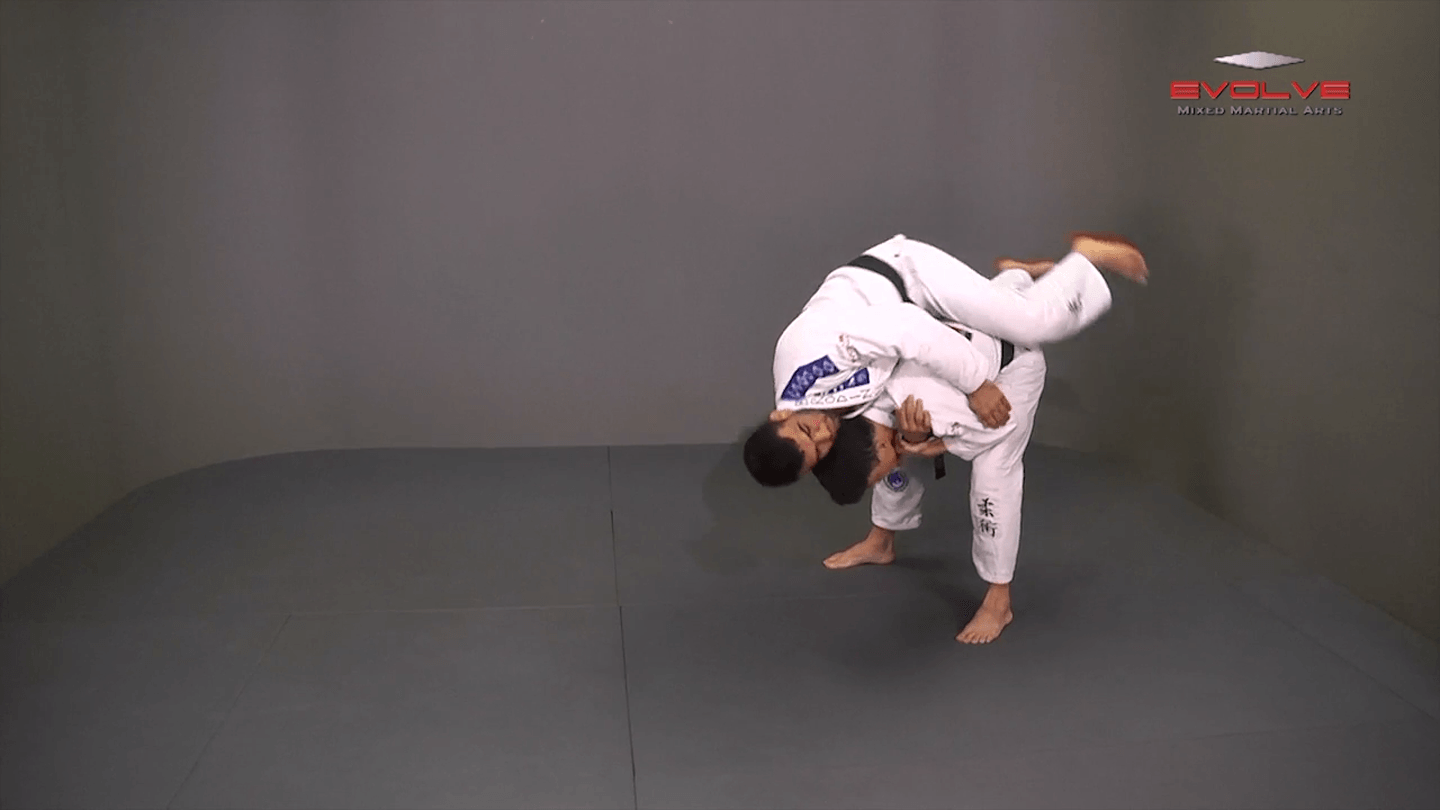 Defense Against Standing Rear Choke