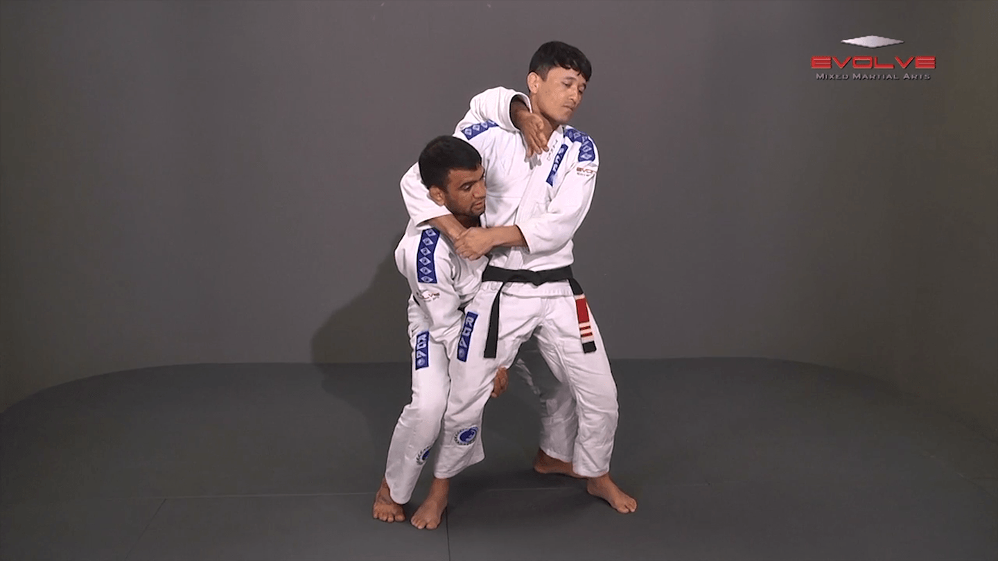 Defense Against Standing Side Headlock