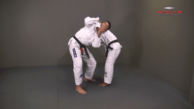 Defense Against The Arm Inside Guillotine Choke