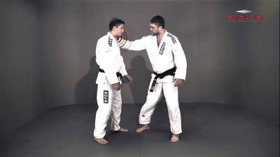 Defense To Shoulder Grab