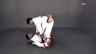 Double Leg Sweep To Armbar