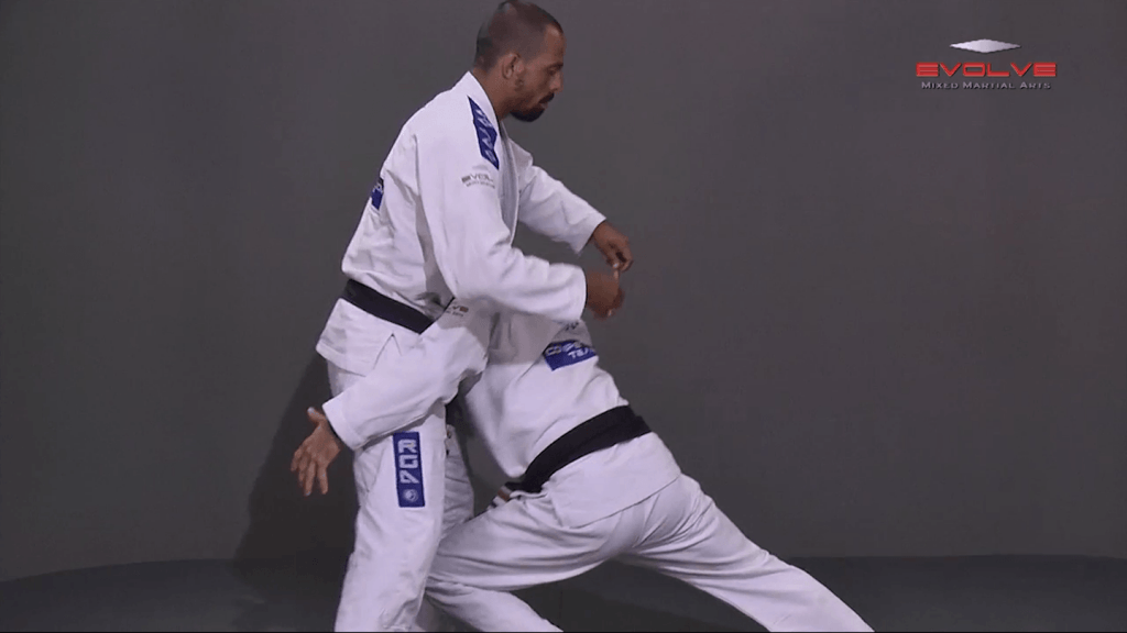 Double Leg Takedown With Gi Grips