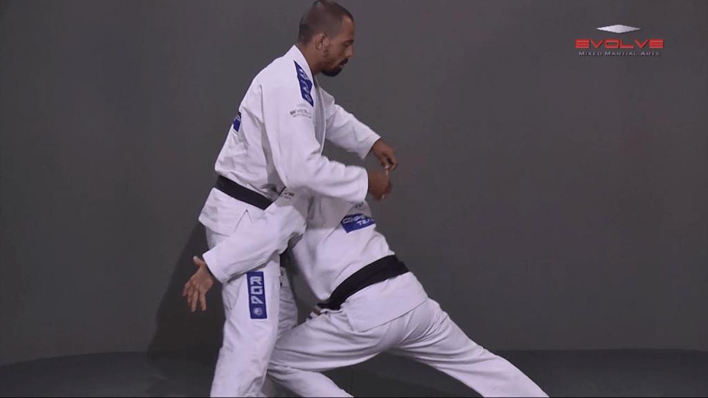 Double Leg Takedown With Gi Grips