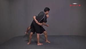Double Underhook To Low Lock Twist Snap Down