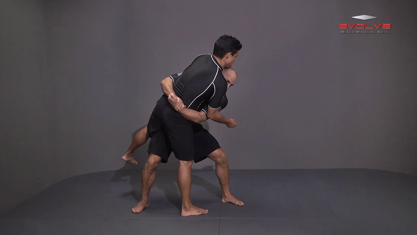 Double Underhook To Low Lock Twist Snap Down