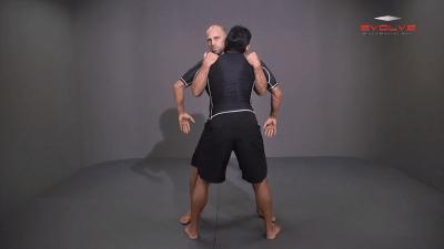 Double Underhook To Twist Throw Takedown
