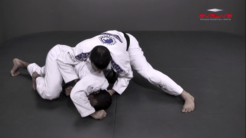 Double Underhooks Pass To Clock Choke