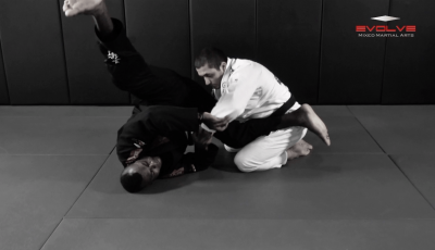 Escape From Back Control To Triangle Choke