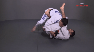 Escape From Side Control – Leg Over
