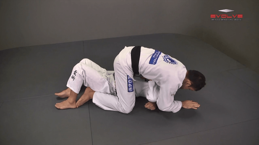 From Side Control To Mount Hip Switching Method