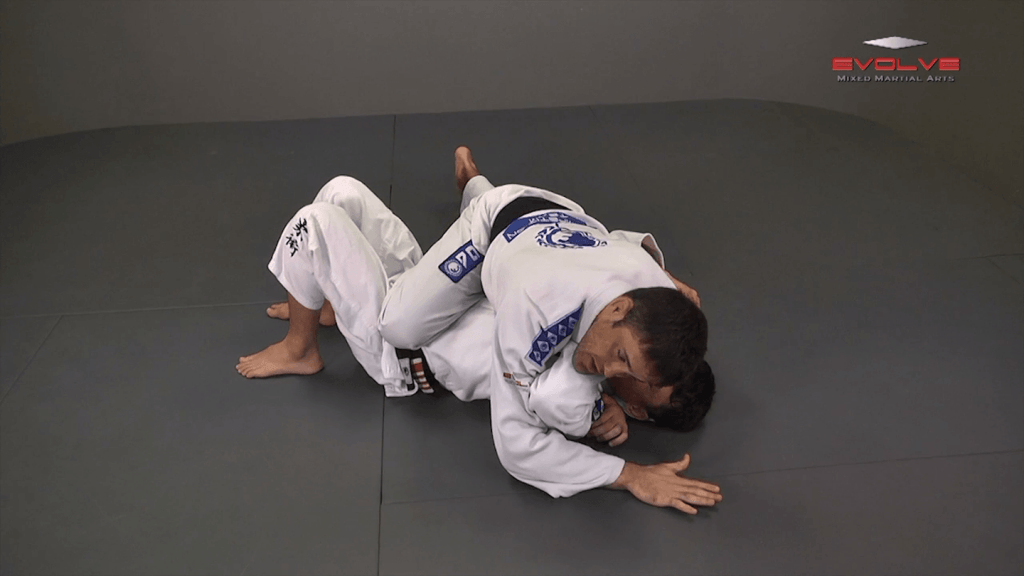 From Side Control To Mount Knee Slide Method