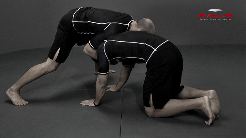 Front Headlock Nearside Cradle