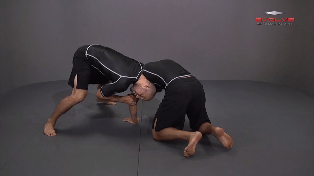 Front Headlock To Spin Behind Head In Armpit