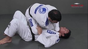 Full Mount Collar Choke From Knee On Belly Position