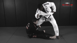 Gi Choke To Defend The De La Riva Guard