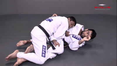 Guard Pass Dragging The Leg Variation