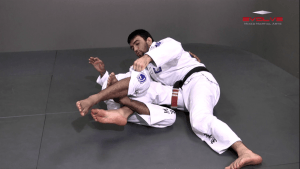 Guard Pass From Inverted Half Guard