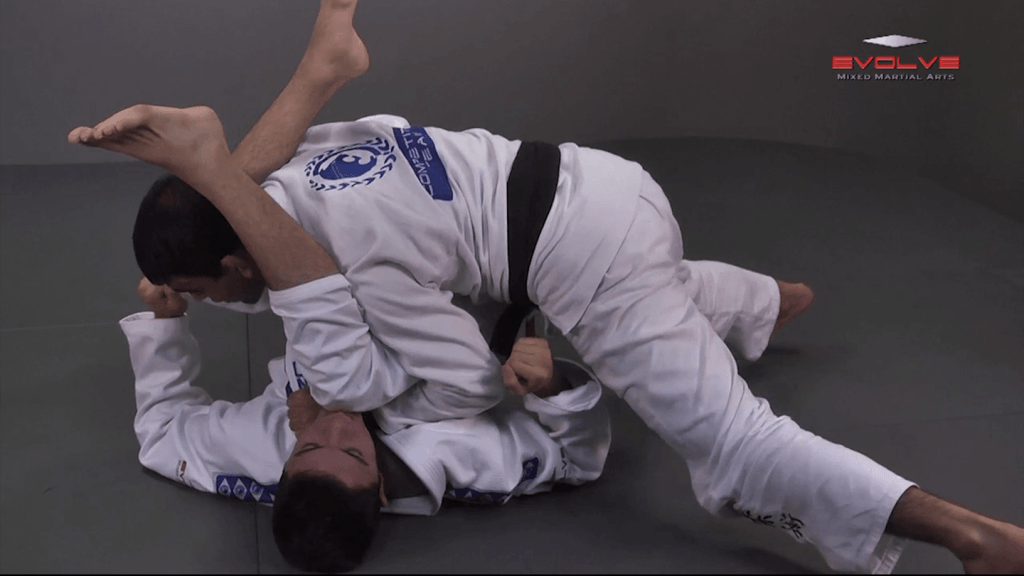 Guard Pass With Double Underhooks