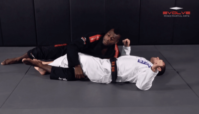 Half Guard Escape To Leg Lock