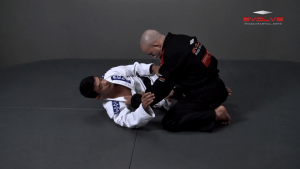 Half Guard Pass Knee Slide