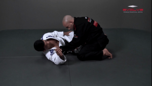 Half Guard Pass Knee Slide Variation