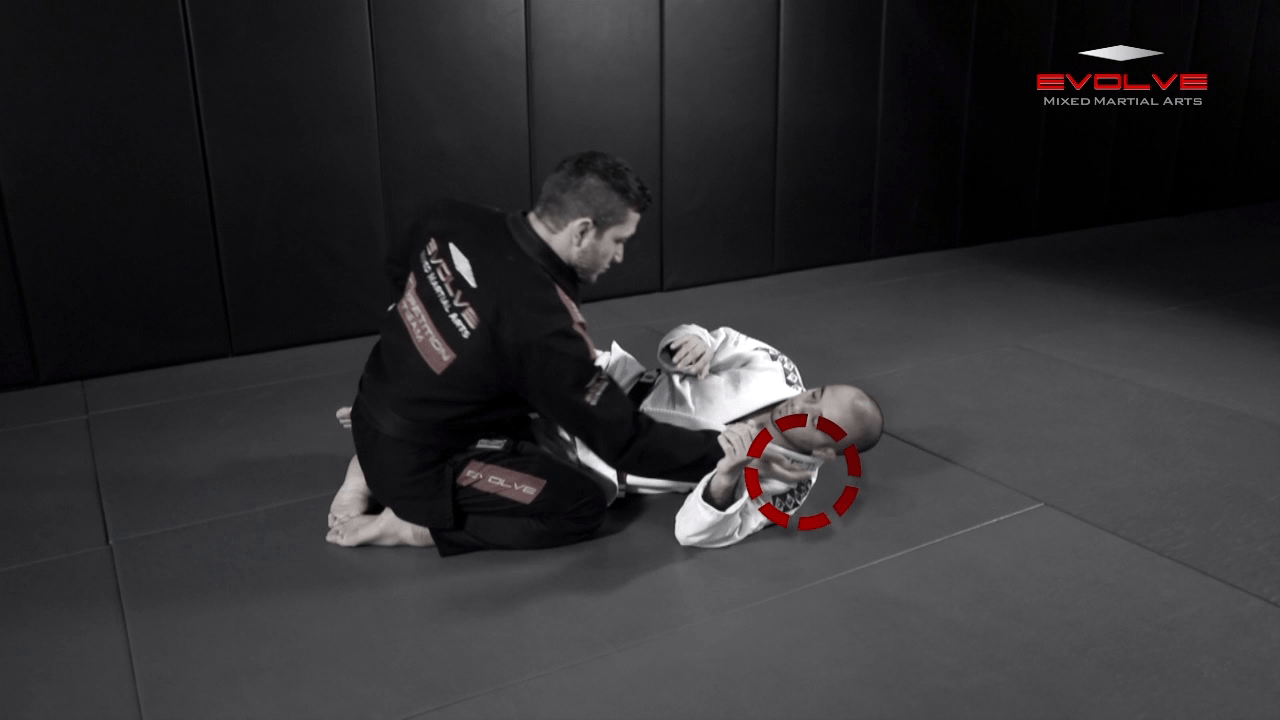 Half Guard Pass To Side Control