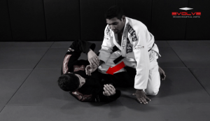 Half Guard Pass With Collar Control