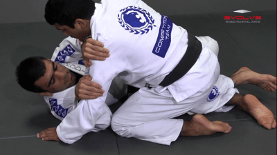 Half Guard Sweep Trapping The Leg