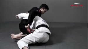Half Guard To Deep Half Guard Transition