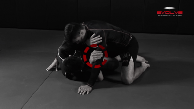 Half Guard Transition To Back Control