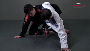 Half Guard Transition To Back Control Swing The Arm