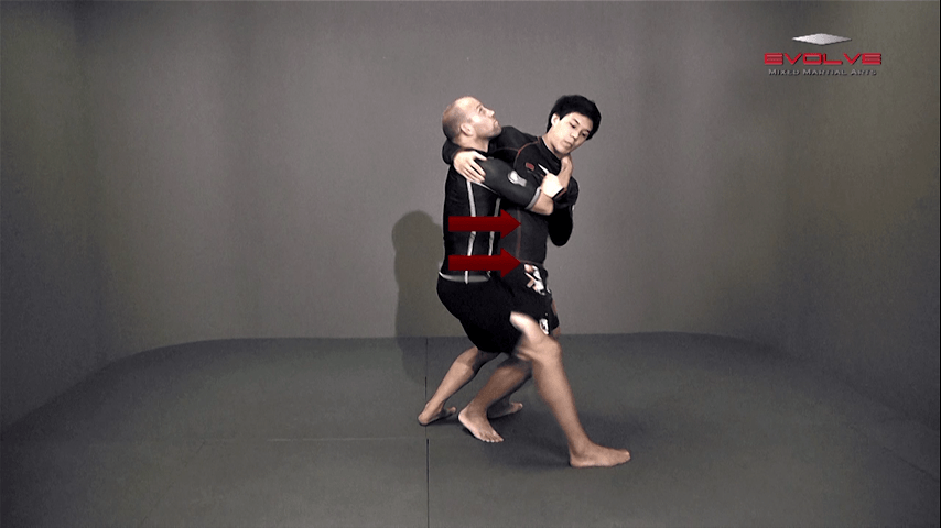 Headlock Standing Defense