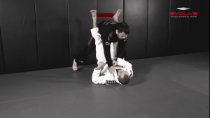 Hip Roll To Recover From Guard