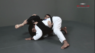 Inverted Triangle Lock From Single Leg