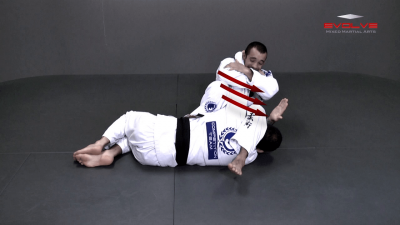 Juji Gatame From Side Control