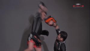Jump Down Elbow