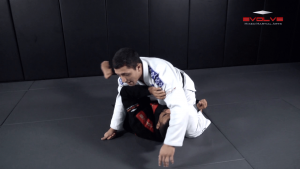 Kimura From Half Guard Variation