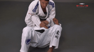 Kimura From North South Position