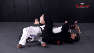 Knee Bar From Half Guard