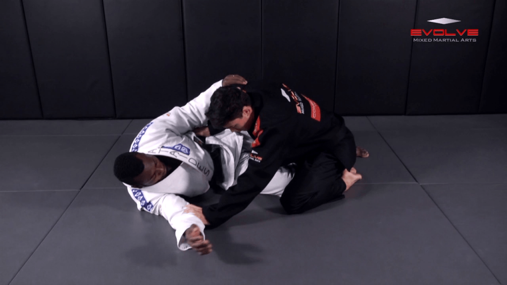 Knee Bar From Half Guard Toe Hold Variation