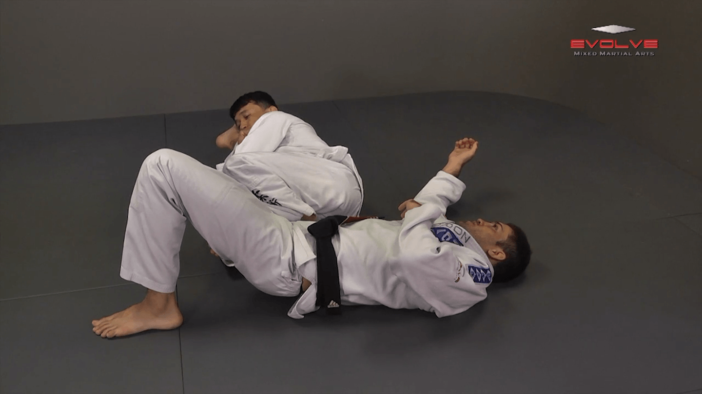 Knee Bar From Side Control