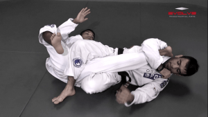 Knee Bar From Top Position