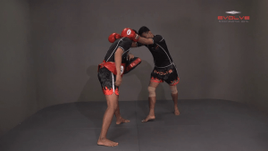 Lamnammoon Sor Sumalee: Clinch, Push Inside Thigh, Knee