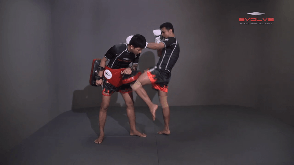 Lamnammoon Sor Sumalee: Parry To Left Knee