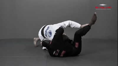 Lapel Choke From Guard